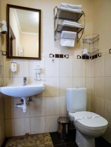 Ванна кімната в Kasimir Resort Hotel