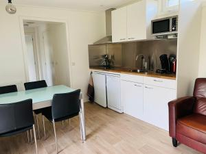 A kitchen or kitchenette at Nieuw Huisje nummer 3