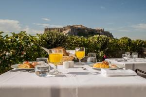 Breakfast options available to guests at Electra Palace Athens