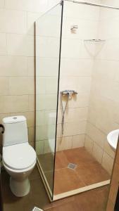 A bathroom at Hotel Shaori