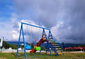 Children's play area at Hotel Shaori