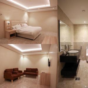 A bathroom at فندق المكان 113