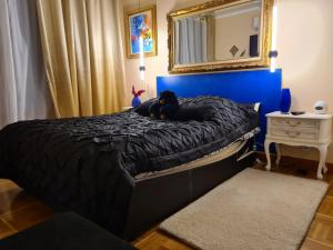 A bed or beds in a room at Luxueux Appartement, 350m métro Castellane