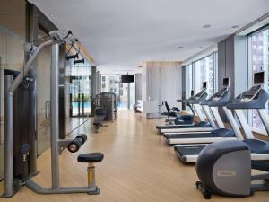 Het fitnesscentrum en/of fitnessfaciliteiten van EAST Hong Kong