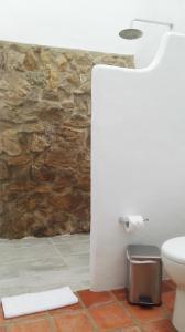 A bathroom at Casa Tzabar