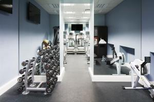 The fitness centre and/or fitness facilities at Club Quarters Hotel, Trafalgar Square