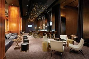A restaurant or other place to eat at Delano Las Vegas at Mandalay Bay