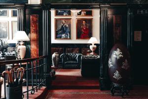 A seating area at Hotel Royal
