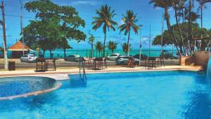 The swimming pool at or close to Hotel Ponta Verde Maceió