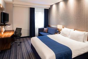 Un ou plusieurs lits dans un hébergement de l'établissement Holiday Inn Express The Hague - Parliament, an IHG Hotel
