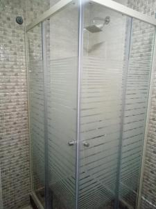 A bathroom at Amin Hotel