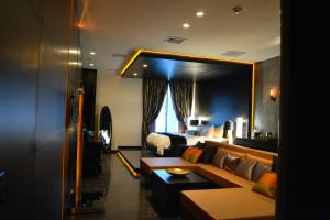 A seating area at The One Boutique Hotel