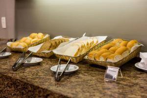 Opções de café da manhã disponíveis para hóspedes em Master Express Cidade Baixa - Próximo à UFRGS e à Santa Casa