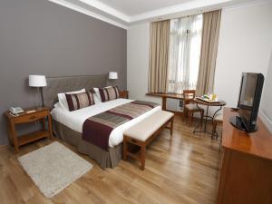Cama o camas de una habitación en Park Plaza Bonaparte Boutique