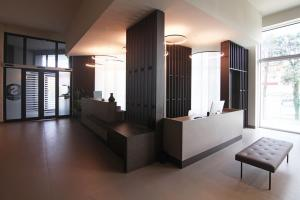 A seating area at Hotel Santin