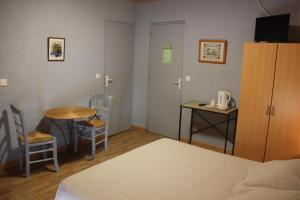 Un ou plusieurs lits dans un hébergement de l'établissement chevrerie de la huberdiere