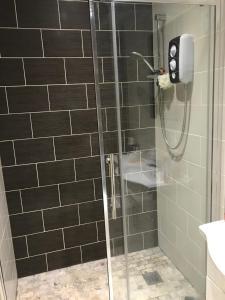 A bathroom at Boughton Road
