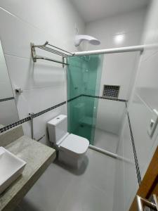 Um banheiro em Pousada Caminho do Mar