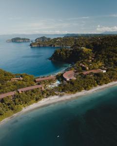 A bird's-eye view of Four Seasons Resort Costa Rica at Peninsula Papagayo