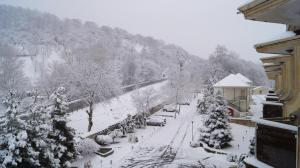 Kaspia Yeddi Gozel Hotel خلال فصل الشتاء