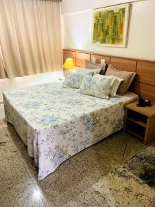 A bed or beds in a room at Nacional Inn Campinas Trevo