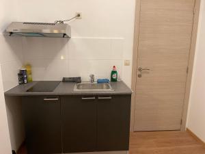 A kitchen or kitchenette at Gîtes Sax 1