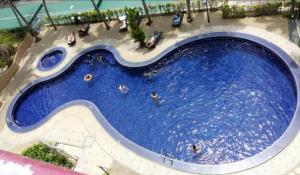 A view of the pool at Pantai seaview resort Batu Ferringhi 1202 or nearby