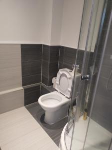 A bathroom at Spacious studio in Maidstone - A