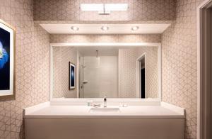 Vonios kambarys apgyvendinimo įstaigoje Luxor
