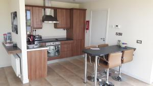 A kitchen or kitchenette at 50 Riverun
