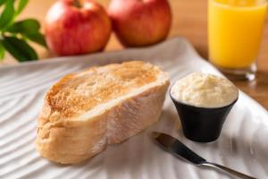 Breakfast options available to guests at Hotel La Foresta By Rigna