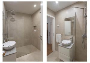 A bathroom at AL - Apartamentos Vista Mar