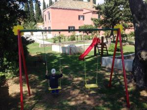 Children's play area at Holiday home in Mlini 6264
