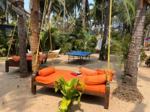 Ping-pong facilities at Art Resort Goa or nearby