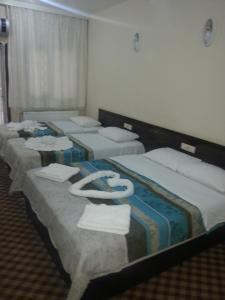 Cama o camas de una habitación en Anatolia Hotel
