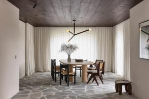 Dining area in the villa