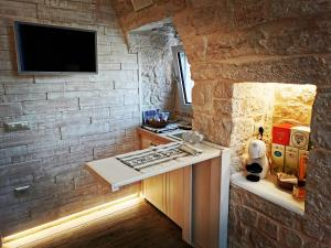 A kitchen or kitchenette at Trully