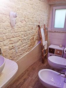 A bathroom at Trully