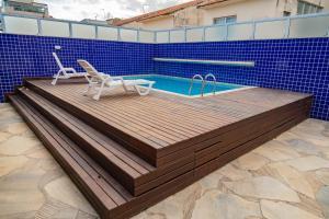 A piscina localizada em Pousada Brisa do Forte ou nos arredores