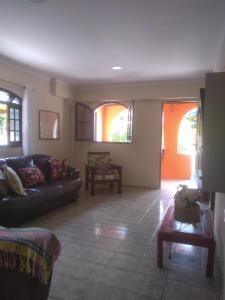 A seating area at Casadateca
