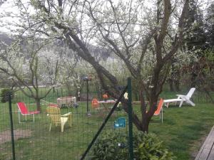 Children's play area at Hotel Des Cotes De Meuse