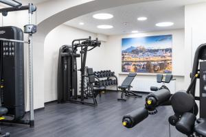 Gimnasio o instalaciones de fitness de Hotel Wolf Dietrich