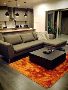 A seating area at Casavino Luxury Villas