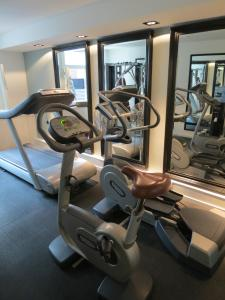 The fitness center and/or fitness facilities at The Dylan Amsterdam