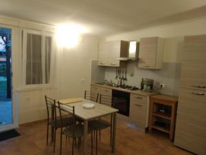 Küche/Küchenzeile in der Unterkunft Urlaub mal anders