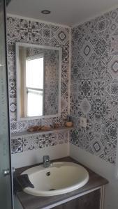 Salle de bains dans l'établissement L'Horizon