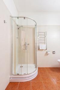 Kúpeľňa v ubytovaní Hotel Rinno