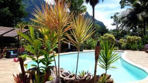 A piscina localizada em Village Temanoha ou nos arredores