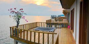 A balcony or terrace at SBS Resort