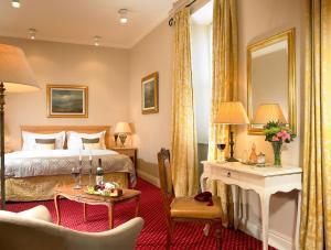 Coin salon dans l'établissement West Cork Hotel